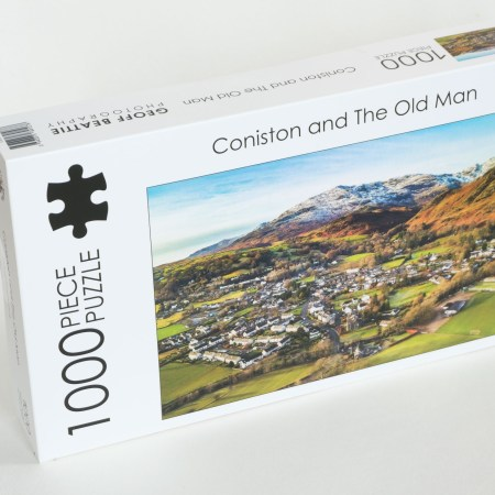 Conistion and the old man lakedistrict cumbria jigsaw