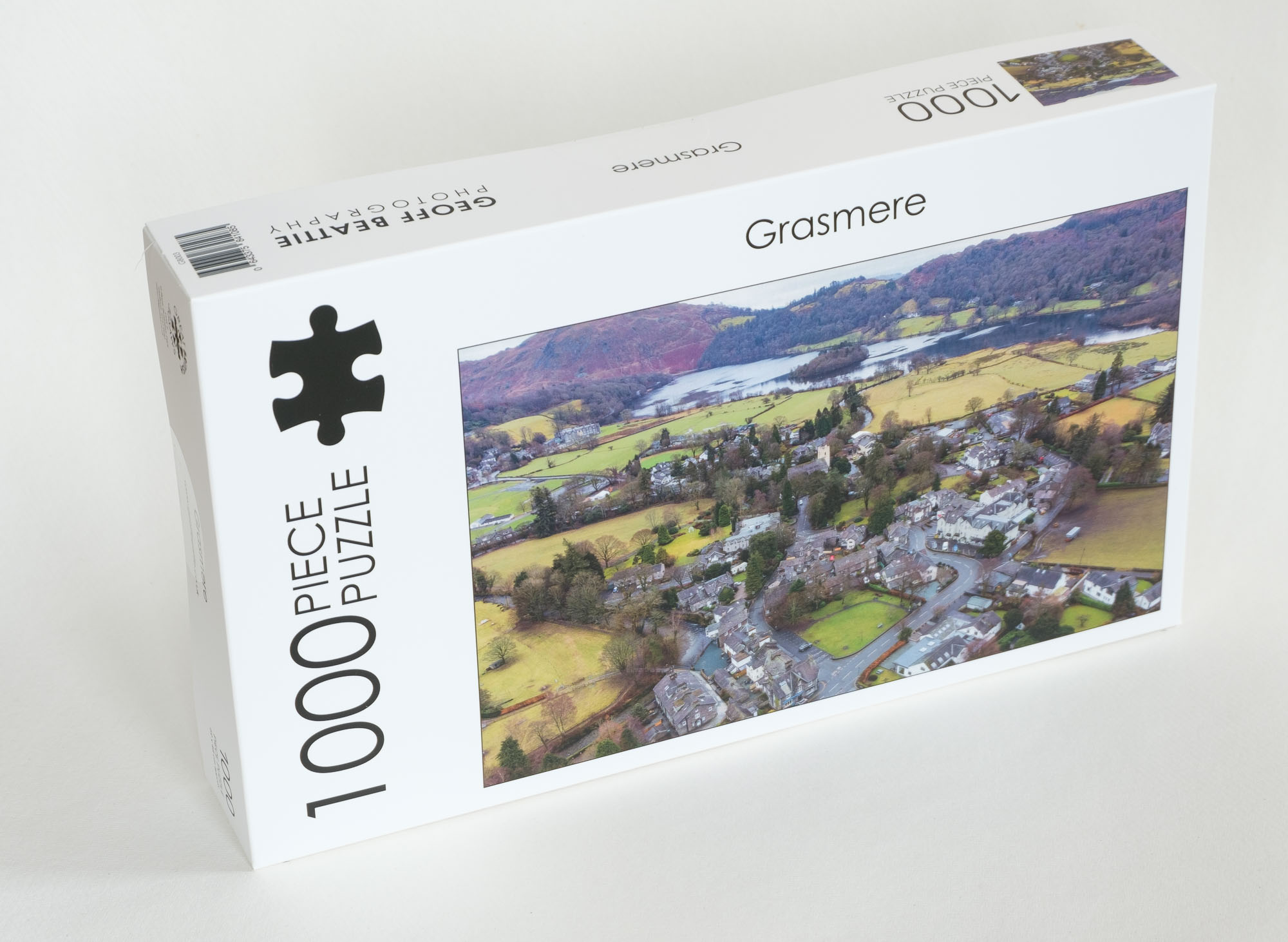 Grasmere lake district cumbria jigsaw