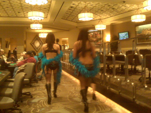 Pussycat Dolls at Caesars poker room
