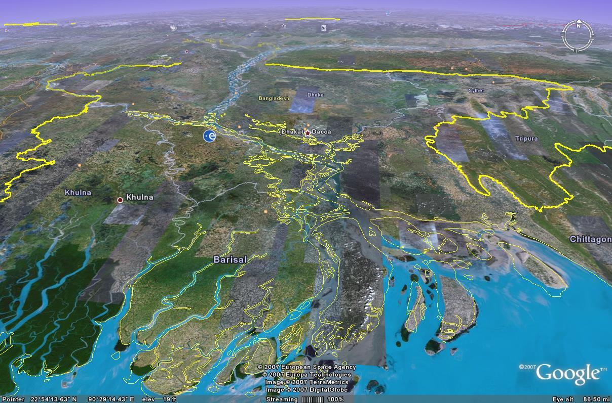 Ganges River Delta – Geoff Fox: My Permanent Record