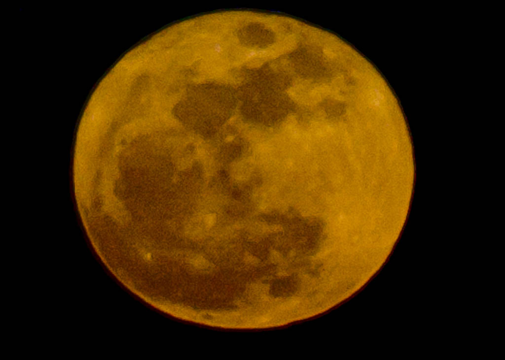 Super Moon Over Connecticut (Photos)