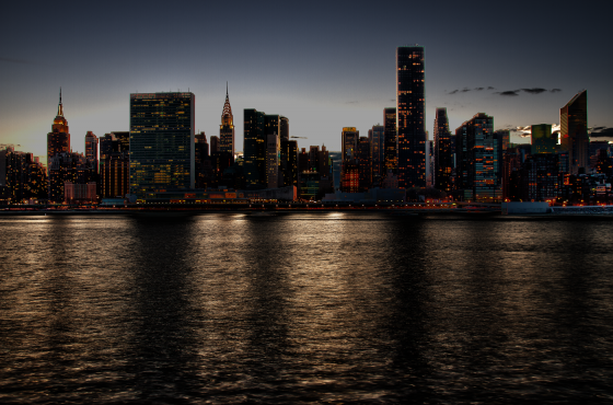 nyc-un-empire-and-chrysler-hdr-nighttime