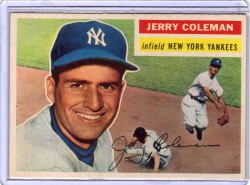 jerry coleman baseball card