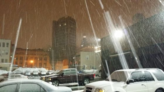 wtnh pkng lot snow