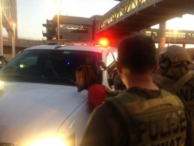 sky harbor shooting arrest