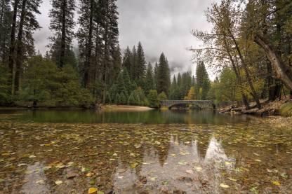 Yosemite Stone Bridge HDR-w1920-h1400