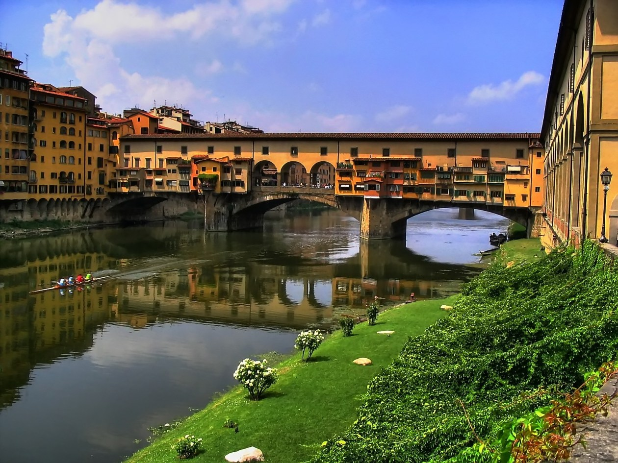 Florence Italy Landscape Painting Bucket List