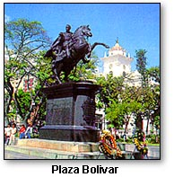 Venezuela Plaza Bolivar