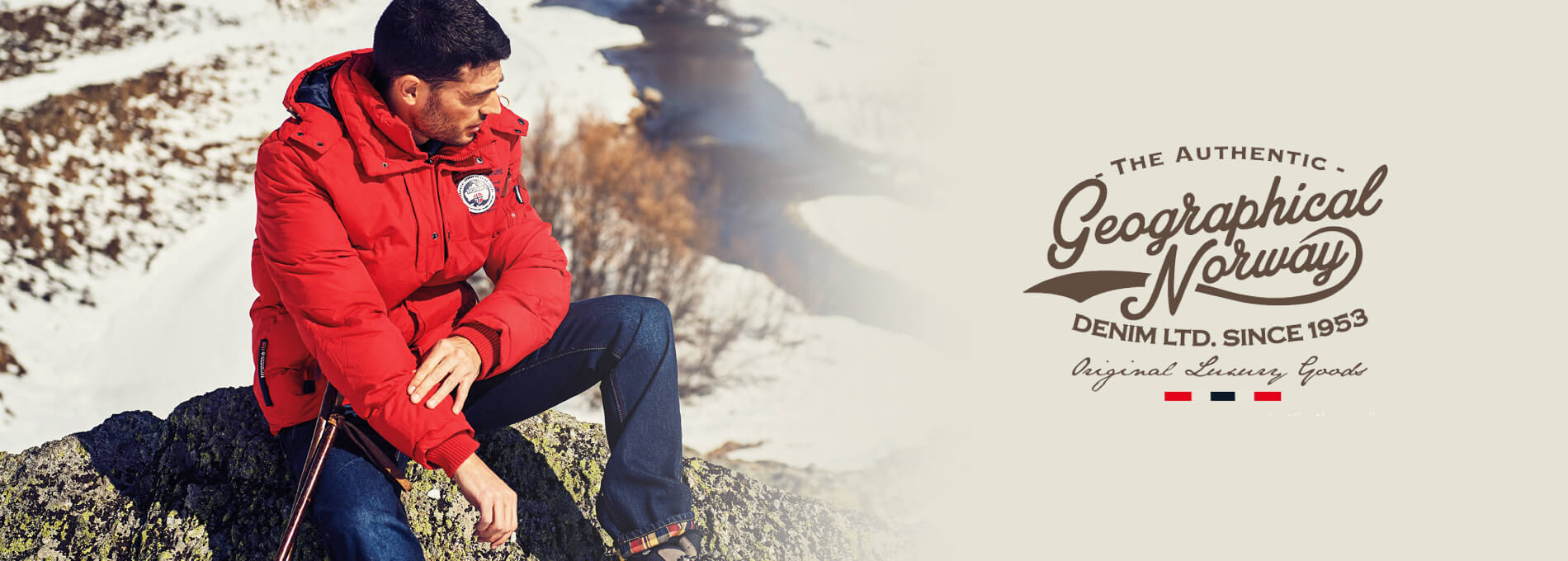 Geographical Norway Banner Homme