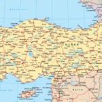 Map Turkey Travel Europe