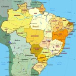 Brazil Map South America