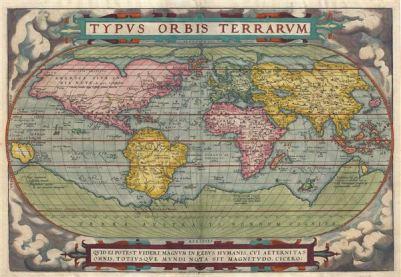 Typus Orbis Terrarum.: Geographicus Rare Antique Maps