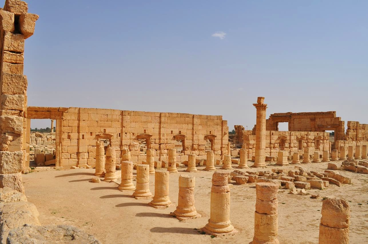 Image result for the agora at palmyra