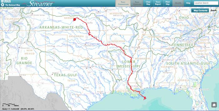 downstream-trace-usgs