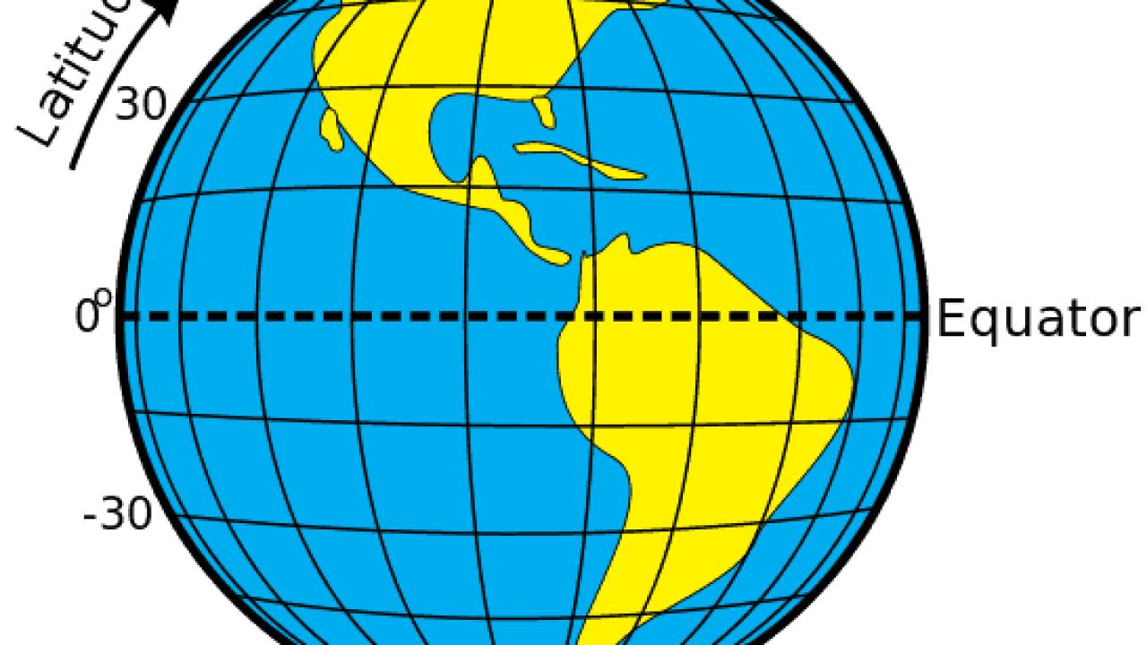 Latitude And Longitude Geography Realm