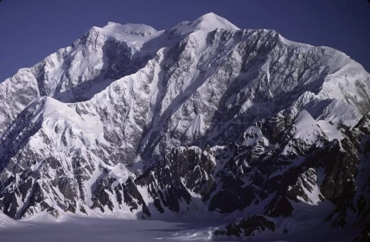 Mount Logan is the highest in mountain in Canada at 5,959 meters (19,551 feet)