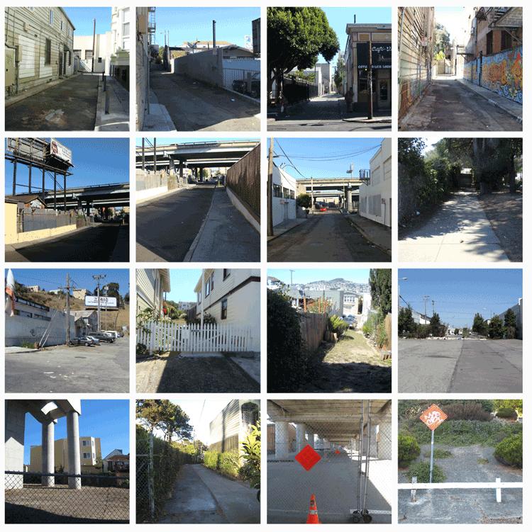 Urban vacancy in San Francisco. Photos: de Monchaux.
