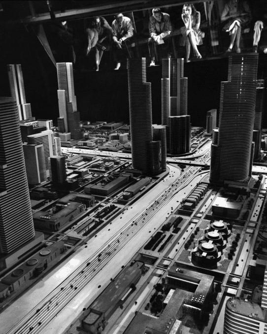 """Futurama: Highways & Horizons."" Exhibit by General Motors at the 1939 World Fair in New York City."