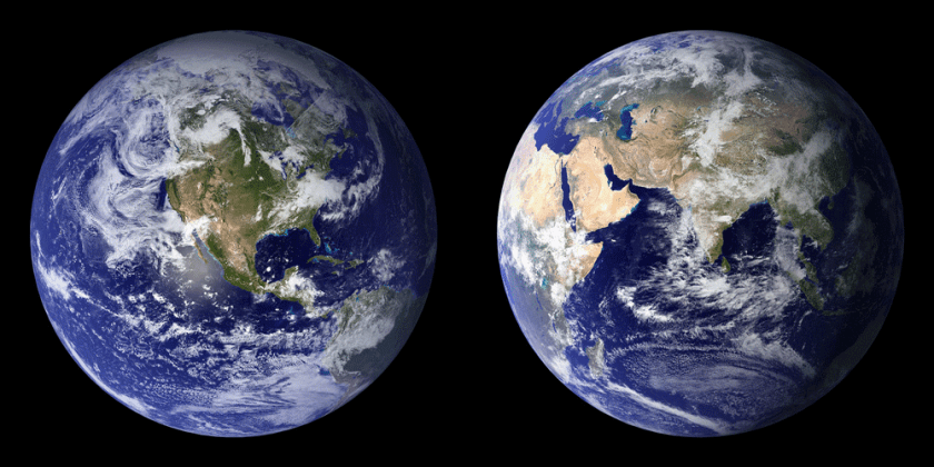 High-resolution global composites of Moderate Resolution Imaging Spectroradiometer (MODIS) data. Source: NASA.