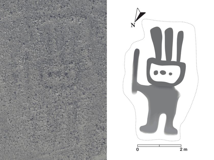 The geoglyph discovered using IBM Watson Machine Learning Community Edition