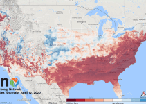 These Maps Show How Early Spring Arrived in Parts of the United States