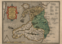 First Published Map of Wales