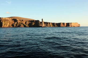 Hoy island, The Old man, Orkneys islands, Scotland.