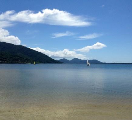 The Lagoa on a calm day