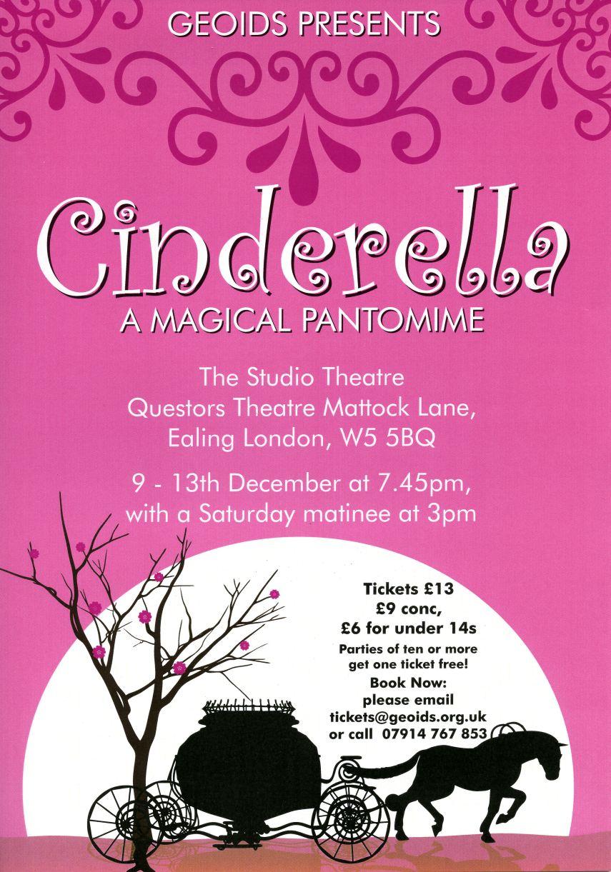 2008 Cinderella Poster