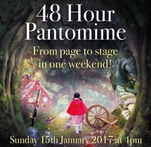 48 Hour Pantomime - Sunday 15th January 2017, 4pm