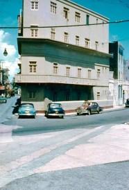 Calle Sol int. con calle Norzagaray, al lado del Castillo San Cristóbal (1954)