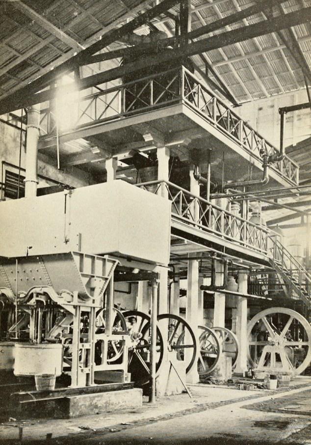 Sugar mill in Manatí.