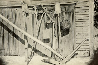 Agricultural implements.
