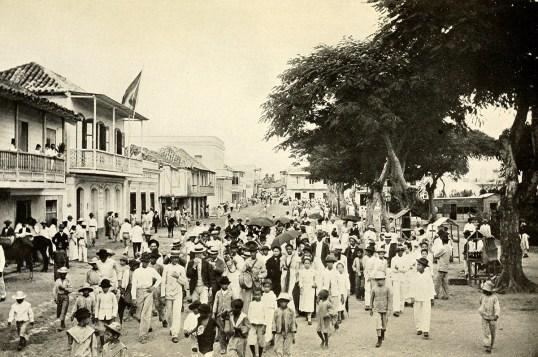 Main Street in Caguas.