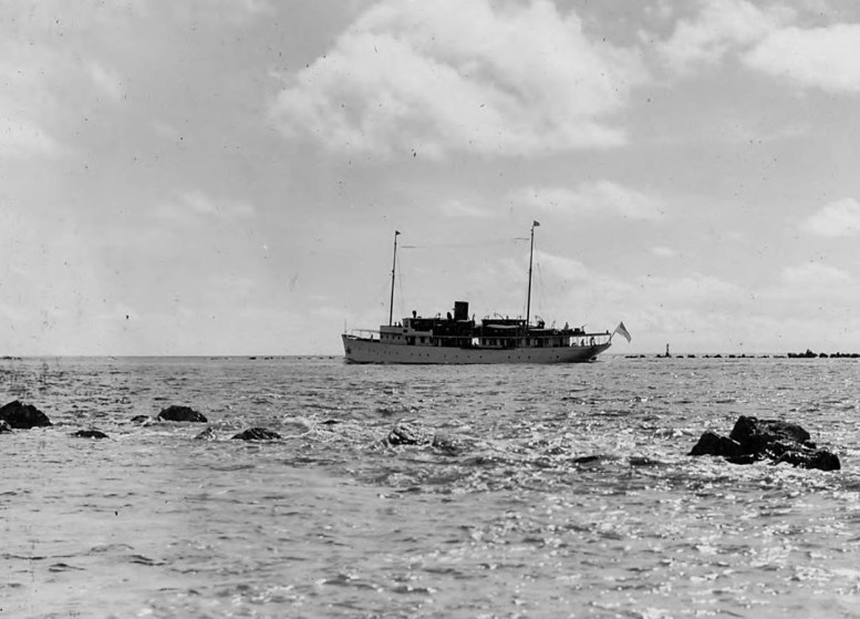 Leaving Miami April 21st 1929
