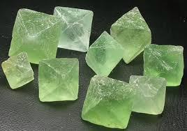 Fluorit oktaeder