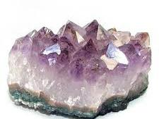 Ametist kristallgrupp från Brazilien