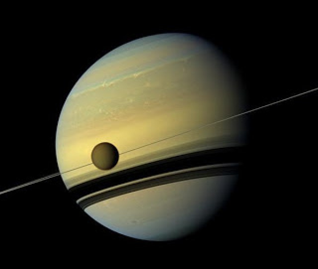 Have Confirmed That Saturns Largest Moon Here Circling The Gas Giant Is Home To Intriguing Organic Chemical Evolution Credit Nasa Jpl Caltech Ssi