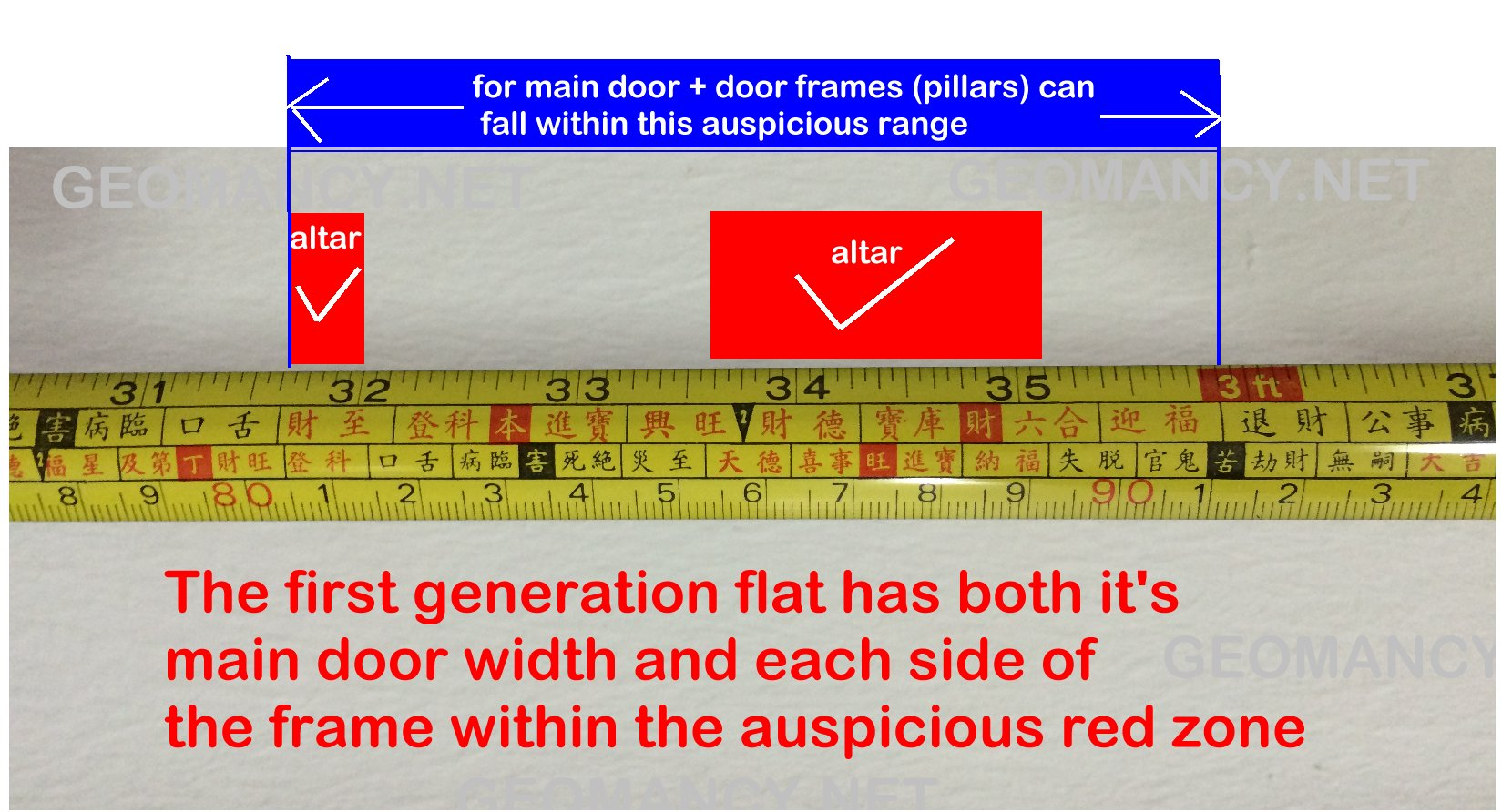Chinese Altar Dimension General Help Feng Shui At