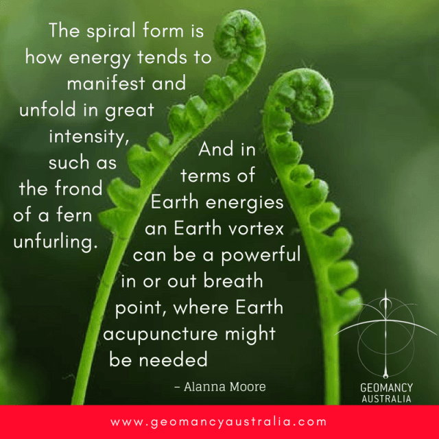 The spiral form     - Geomancy Australia – Heal the Earth, Heal Yourself