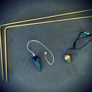 dowsing rods and pendulums