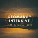 geomancy training