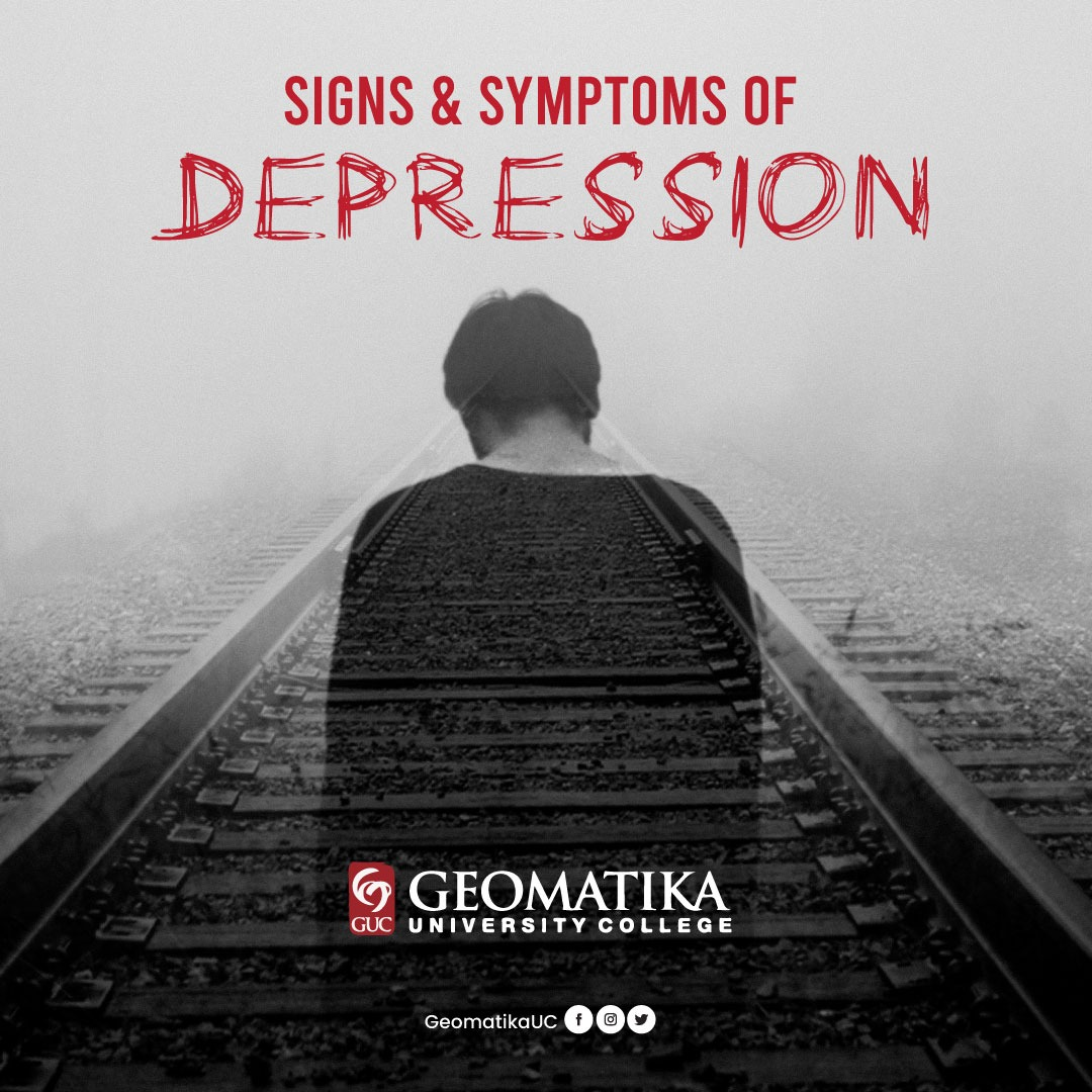 Signs and Symptoms of Depression | Geomatika