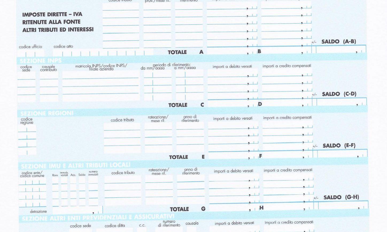 Compilazione F24 Imu Come Compilare Modello F24 Imu