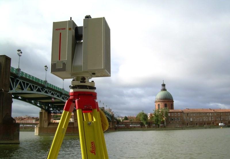 Scanner laser HDS7000 Ultra rapide, à portée étendue pour acquisition 3D