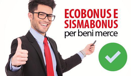 Ecobonus e sismabonus anche per titolari di reddito d'impresa