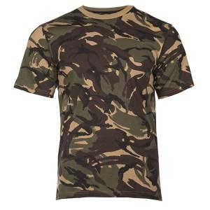mil-tec brtitish dpm camo t-shirt