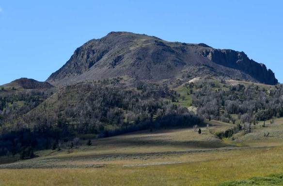 Black Butte, at 10,542 feet  in elevation, is the highest peak in the Gravelly Range.