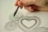 Drawing heart
