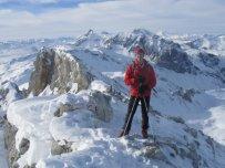 Dietrmar am Gipfel